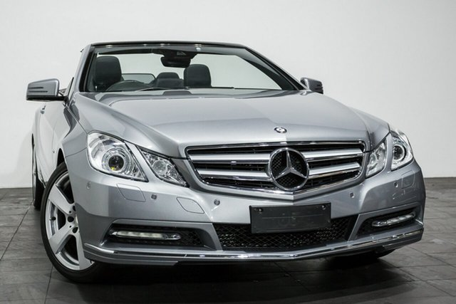 Used Mercedes-Benz E250 BlueEFFICIENCY 7G-Tronic + Avantgarde, Rozelle, 2011 Mercedes-Benz E250 BlueEFFICIENCY 7G-Tronic + Avantgarde Cabriolet