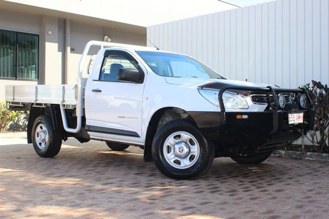 Used Holden Colorado DX, Cairns, 2015 Holden Colorado DX Cab Chassis