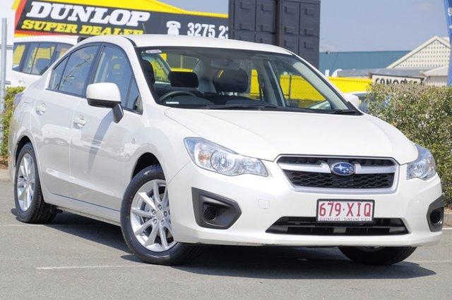 Used Subaru Impreza 2.0i Lineartronic AWD, Bowen Hills, 2015 Subaru Impreza 2.0i Lineartronic AWD Sedan