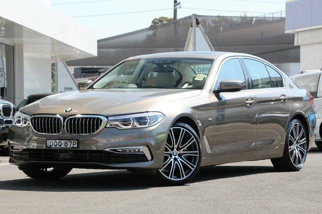 Demonstrator, Demo, Near New BMW 520d Luxury Line Steptronic, Brookvale, 2016 BMW 520d Luxury Line Steptronic Sedan