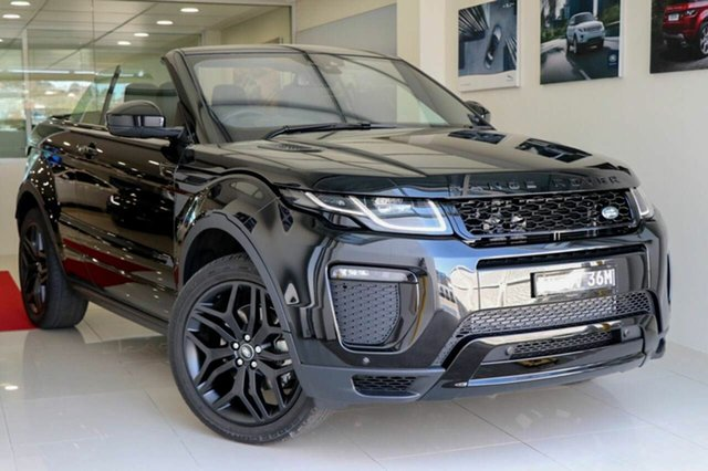 Demonstrator, Demo, Near New Land Rover Range Rover Evoque SI4 HSE Dynamic, Brookvale, 2016 Land Rover Range Rover Evoque SI4 HSE Dynamic Convertible