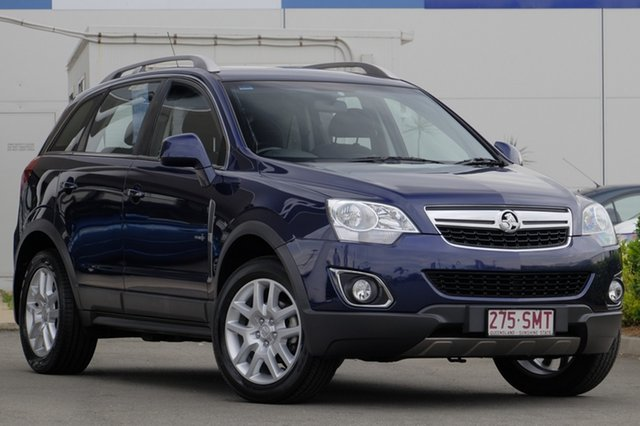 Used Holden Captiva 5, Bowen Hills, 2012 Holden Captiva 5 Wagon