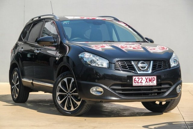 Used Nissan Dualis +2 Hatch X-tronic 2WD Ti-L, Moorooka, Brisbane, 2013 Nissan Dualis +2 Hatch X-tronic 2WD Ti-L Hatchback