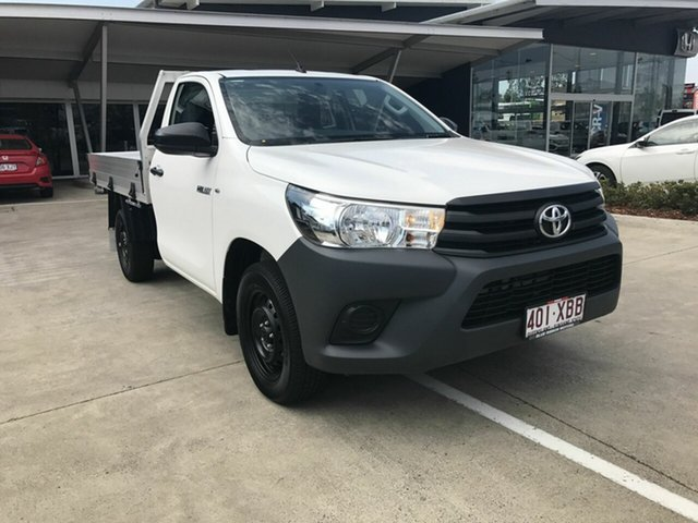 Discounted Used Toyota Hilux Workmate, Yamanto, 2016 Toyota Hilux Workmate Cab Chassis