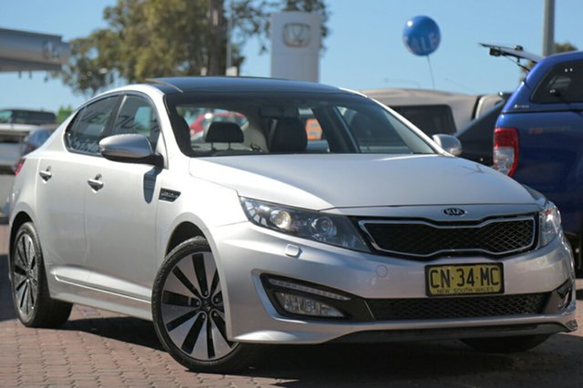 Used Kia Optima Platinum, Narellan, 2012 Kia Optima Platinum Sedan
