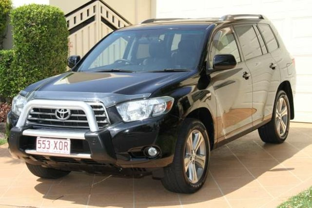 Discounted Used Toyota Kluger KX-S AWD, Bundall, 2008 Toyota Kluger KX-S AWD GSU45R Wagon