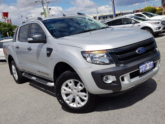 Used Ford Ranger Wildtrak Double Cab, Morley, 2015 Ford Ranger Wildtrak Double Cab Utility