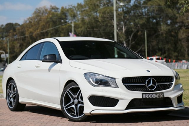 Discounted Used Mercedes-Benz CLA200 DCT, Warwick Farm, 2016 Mercedes-Benz CLA200 DCT Coupe