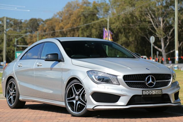 Discounted Used Mercedes-Benz CLA200 DCT, Warwick Farm, 2015 Mercedes-Benz CLA200 DCT Coupe