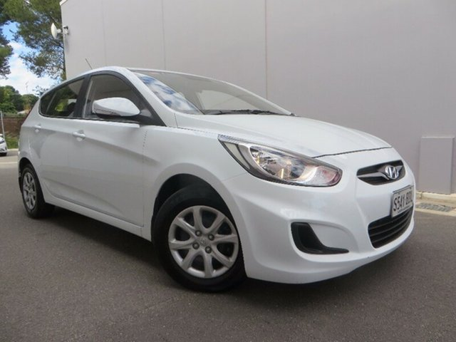 Used Hyundai Accent Active, Reynella, 2014 Hyundai Accent Active Hatchback