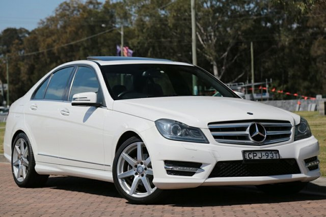 Discounted Used Mercedes-Benz C250 Avantgarde 7G-Tronic +, Warwick Farm, 2013 Mercedes-Benz C250 Avantgarde 7G-Tronic + Sedan