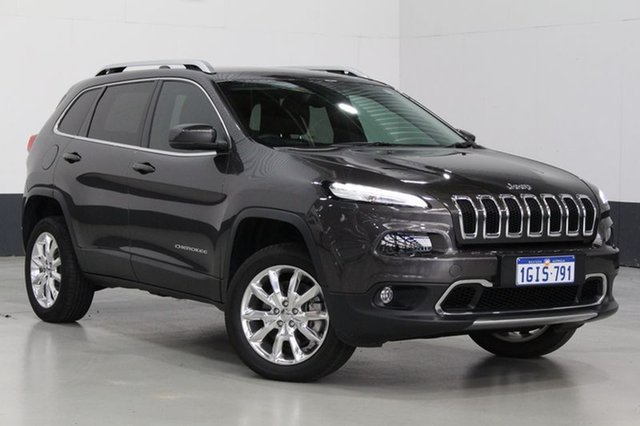 Used Jeep Cherokee Limited (4x4), Bentley, 2015 Jeep Cherokee Limited (4x4) Wagon