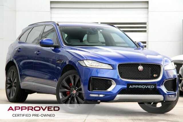 Discounted Used Jaguar F-PACE 30d AWD First Edition, Gardenvale, 2017 Jaguar F-PACE 30d AWD First Edition Wagon