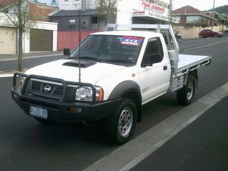 2009 Nissan Navara DX (4x4) Cab Chassis.