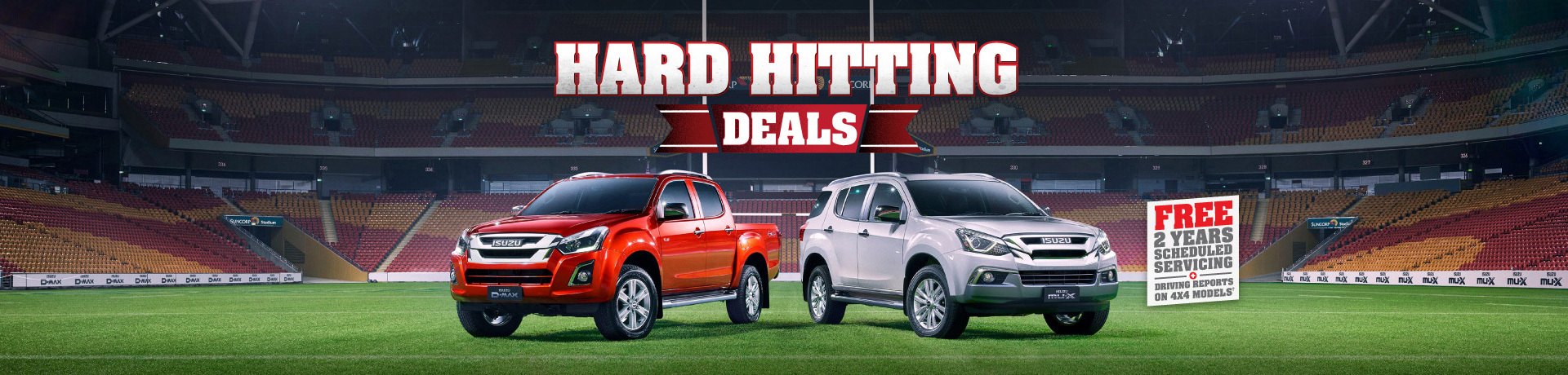 Isuzu - National Offer - Hard Hitting Deals