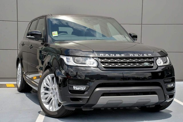 Demonstrator, Demo, Near New Land Rover Range Rover Sport TdV6 CommandShift SE, Springwood, 2017 Land Rover Range Rover Sport TdV6 CommandShift SE Wagon