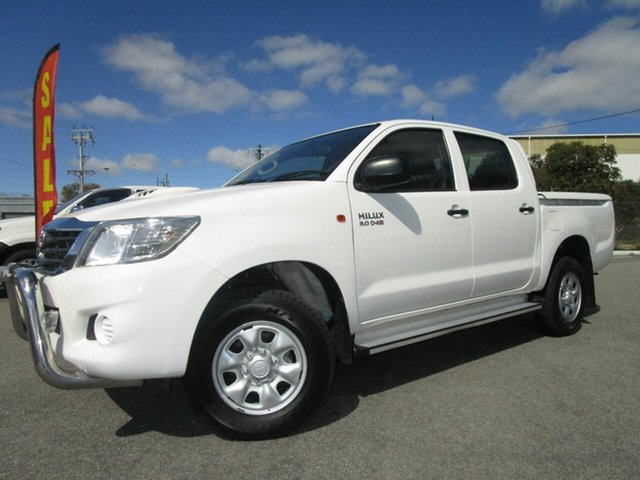 Discounted Used Toyota Hilux SR Double Cab, Welshpool, 2013 Toyota Hilux SR Double Cab Utility