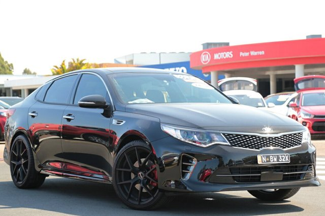 Demonstrator, Demo, Near New Kia Optima GT, Warwick Farm, 2017 Kia Optima GT Sedan