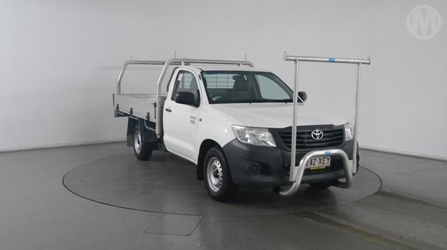 Used Toyota Hilux Workmate, Altona North, 2014 Toyota Hilux Workmate Cab Chassis