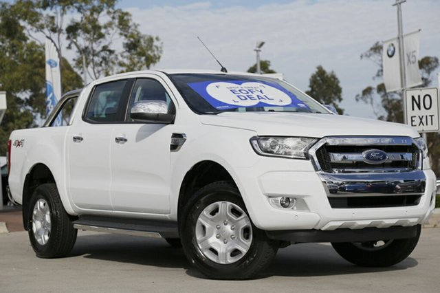 Discounted Demonstrator, Demo, Near New Ford Ranger XLT Double Cab, Narellan, 2017 Ford Ranger XLT Double Cab Utility