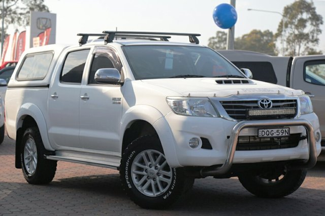 Used Toyota Hilux SR5 Double Cab, Narellan, 2011 Toyota Hilux SR5 Double Cab Utility