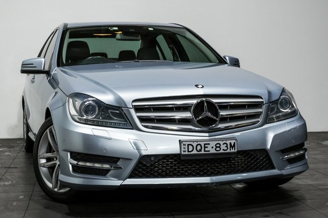 Used Mercedes-Benz C200 BlueEFFICIENCY 7G-Tronic +, Rozelle, 2012 Mercedes-Benz C200 BlueEFFICIENCY 7G-Tronic + Sedan