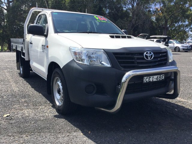 Used Toyota Hilux Workmate, Coffs Harbour, 2012 Toyota Hilux Workmate Cab Chassis