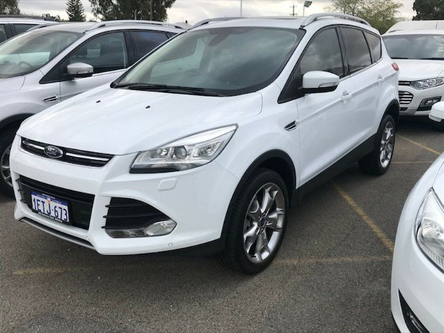 Demonstrator, Demo, Near New Ford Kuga Titanium AWD, Morley, 2015 Ford Kuga Titanium AWD Wagon