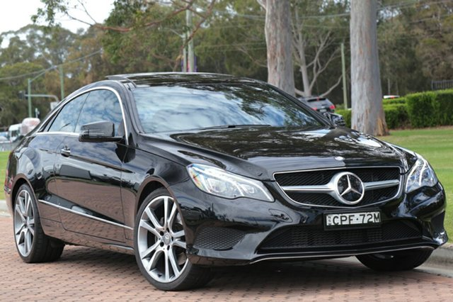 Discounted Used Mercedes-Benz E250 7G-Tronic +, Warwick Farm, 2013 Mercedes-Benz E250 7G-Tronic + Coupe