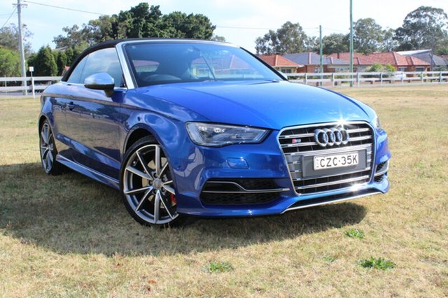 Used Audi S3 S tronic quattro, Rutherford, 2014 Audi S3 S tronic quattro Cabriolet