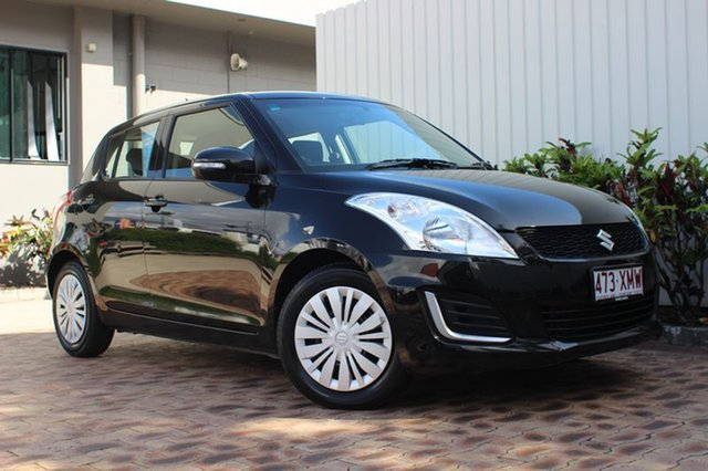Used Suzuki Swift GL, Cairns, 2016 Suzuki Swift GL Hatchback
