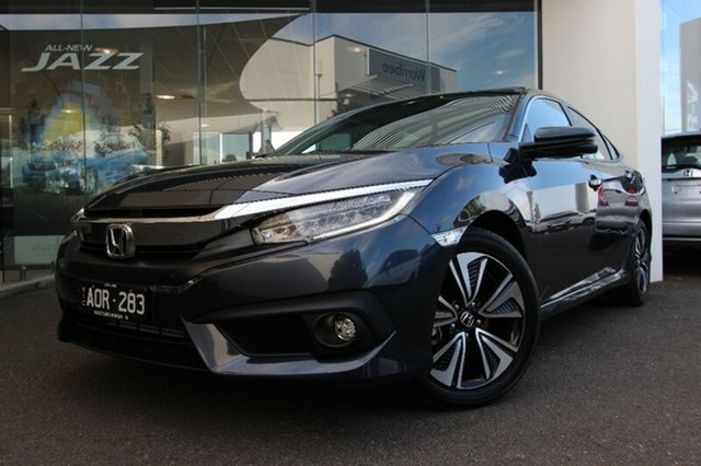 Demonstrator, Demo, Near New Honda Civic VTI-LX, Hoppers Crossing, 2017 Honda Civic VTI-LX Sedan