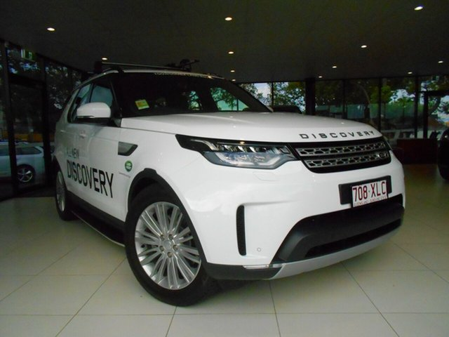 Demonstrator, Demo, Near New Land Rover Discovery TD6 HSE, Toowoomba, 2017 Land Rover Discovery TD6 HSE Wagon