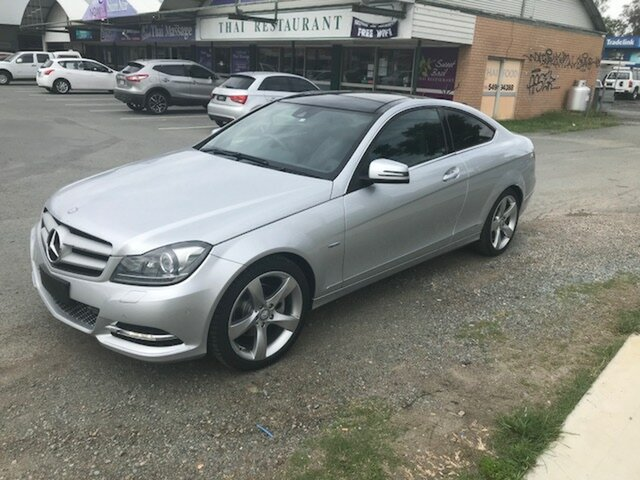Used Mercedes-Benz C250 CDI BlueEFFICIENCY 7G-Tronic, Caboolture, 2011 Mercedes-Benz C250 CDI BlueEFFICIENCY 7G-Tronic Coupe