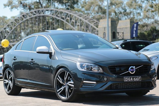 Discounted Demonstrator, Demo, Near New Volvo S60 T5 Adap Geartronic R-Design, Southport, 2017 Volvo S60 T5 Adap Geartronic R-Design Sedan