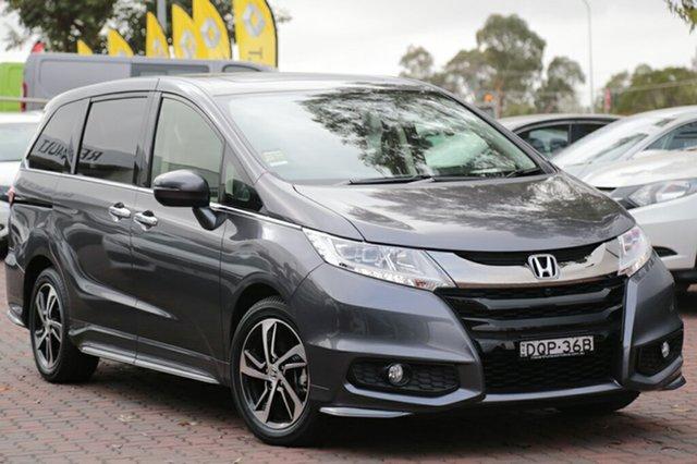 Discounted Demonstrator, Demo, Near New Honda Odyssey VTi-L, Narellan, 2017 Honda Odyssey VTi-L Wagon
