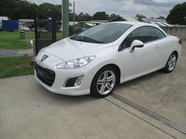 Used Peugeot 308 308cc, Capalaba, 2012 Peugeot 308 308cc Convertible