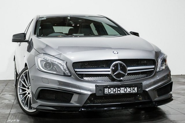 Used Mercedes-Benz A45 AMG SPEEDSHIFT DCT 4MATIC, Rozelle, 2014 Mercedes-Benz A45 AMG SPEEDSHIFT DCT 4MATIC Hatchback