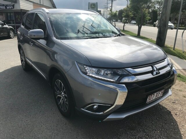 Used Mitsubishi Outlander LS 2WD, Caboolture, 2017 Mitsubishi Outlander LS 2WD Wagon