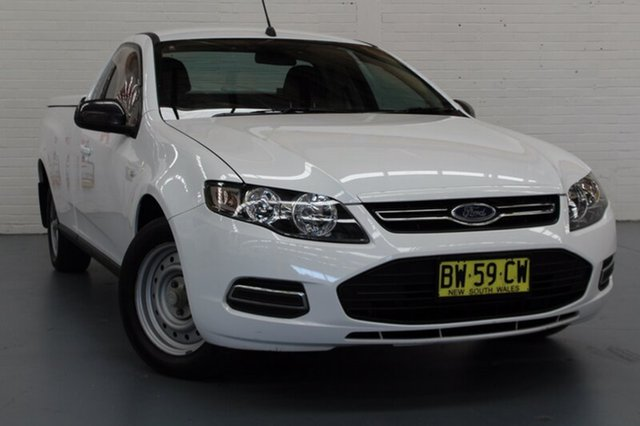 Used Ford Falcon Ute Super Cab, Cardiff, 2013 Ford Falcon Ute Super Cab Utility