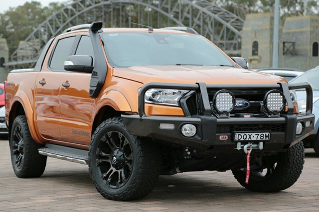 Discounted Used Ford Ranger Wildtrak Double Cab, Warwick Farm, 2017 Ford Ranger Wildtrak Double Cab Utility