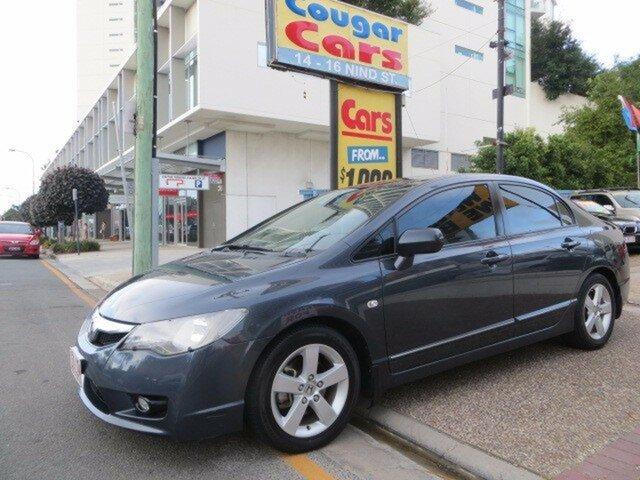 Used Honda Civic VTi-L, Southport, 2009 Honda Civic VTi-L Sedan
