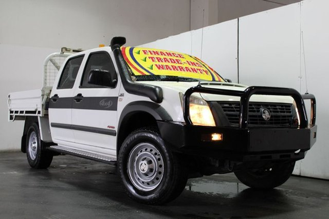Used Holden Rodeo LX (4x4), Underwood, 2007 Holden Rodeo LX (4x4) Crew C/Chas