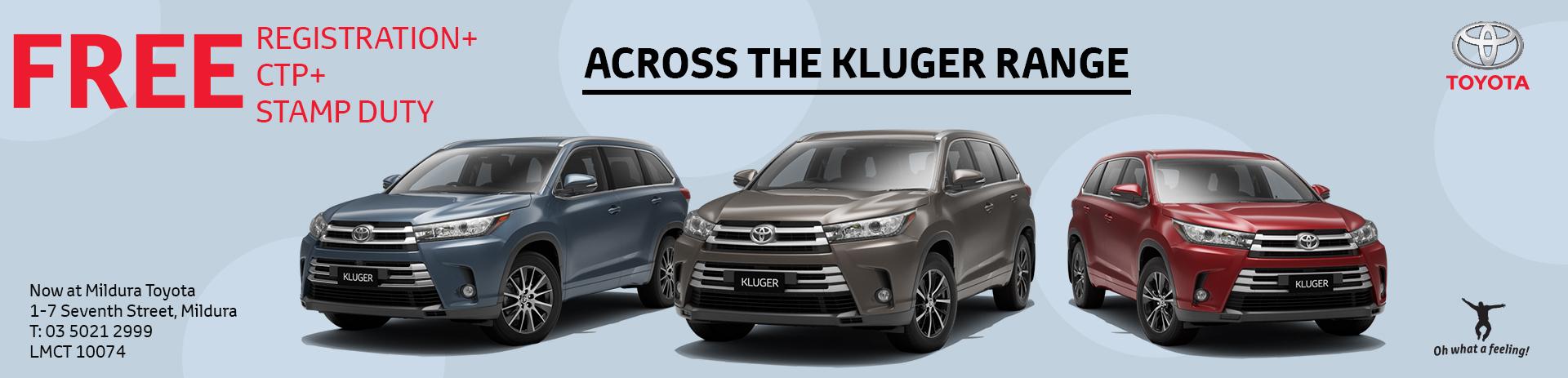 Mildura Toyota | Kluger