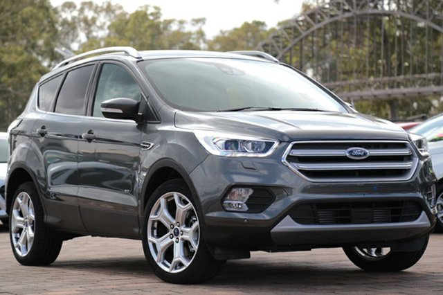 Discounted Demonstrator, Demo, Near New Ford Escape Titanium PwrShift AWD, Warwick Farm, 2017 Ford Escape Titanium PwrShift AWD SUV