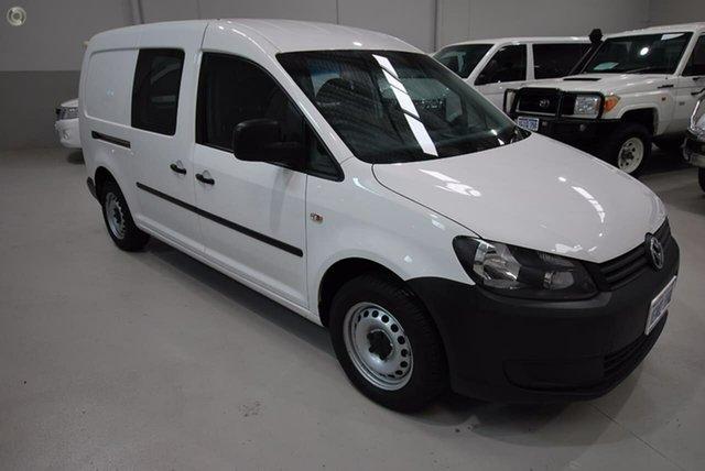 Used Volkswagen Caddy TDI250 BlueMOTION Maxi DSG, Kenwick, 2014 Volkswagen Caddy TDI250 BlueMOTION Maxi DSG Van