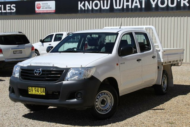 Used Toyota Hilux Workmate, Bathurst, 2013 Toyota Hilux Workmate Dual Cab Pick-up