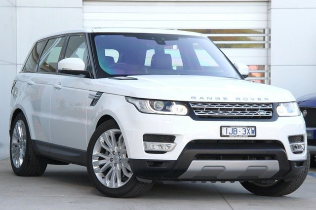 Demonstrator, Demo, Near New Land Rover Range Rover Sport 3.0 V6 SC HSE, Gardenvale, 2017 Land Rover Range Rover Sport 3.0 V6 SC HSE Wagon