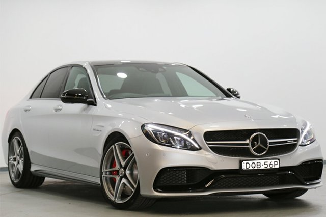 Used Mercedes-Benz C63 AMG SPEEDSHIFT MCT S, Narellan, 2015 Mercedes-Benz C63 AMG SPEEDSHIFT MCT S Sedan