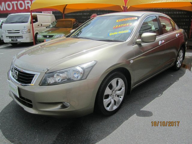 Used Honda Accord VTi-L, Capalaba, 2008 Honda Accord VTi-L Sedan